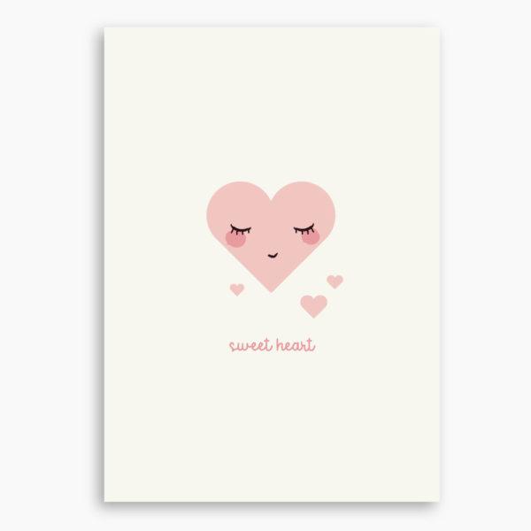 AFFICHE SWEET HEART
