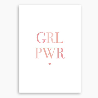AFFICHE GIRL POWER