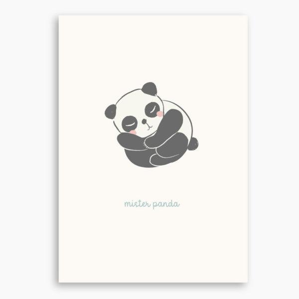 AFFICHE MISTER PANDA